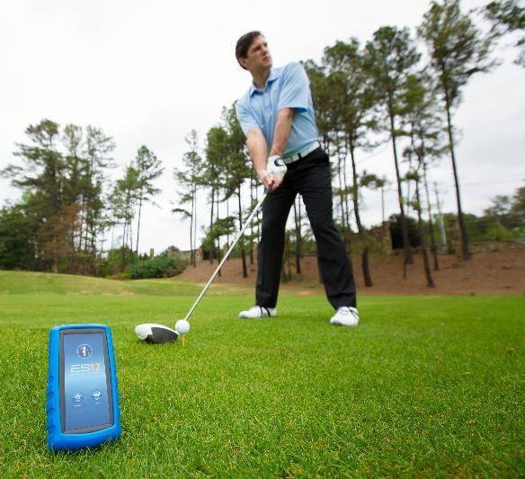 utilisation en situation sur le parcours de golf