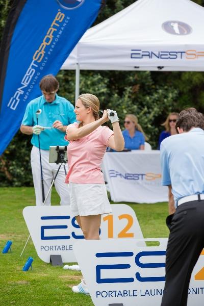 interaction entre le parcours de golf et le practice